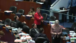 Councillors turn their back on Ford in protest
